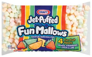 flavored marshmallows